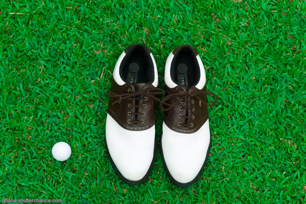 photoblog image The Golfers shoes
