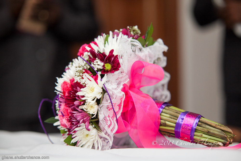 photoblog image Brides Bouquet